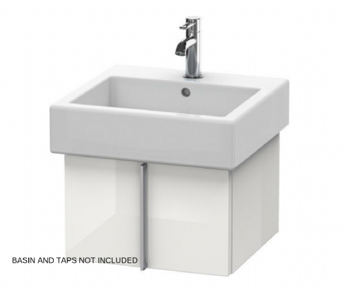 Duravit Vero Vanity Unit In High Gloss White - Model Number VE610308585